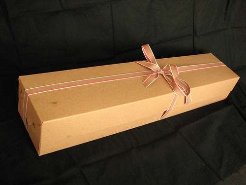 A nice long box with a ribbon