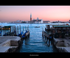 Venezia (M_U_R_A_M_A_S_A) Tags: venice sunset italy tramonto 100views reflexions venezia goldenglobe blueribbonwinner d40 5photosaday diamondclassphotographer flickrestrellas