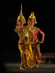 Night Performace at Angkor Wat