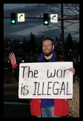 The War is Illegal