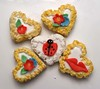 Art in a Heart! (nikkicookiebaker) Tags: decorated