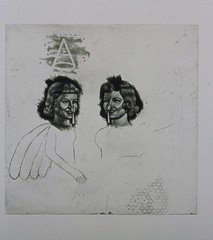 Double Blind Study--2007 (Hibiki M.) Tags: art print etching printmaking