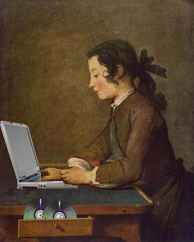 The House of Blogs, after Jean-Baptiste Siméon Chardin