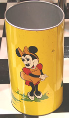 "Restored Metal Disney trashcan for sale • <a style=""font-size:0.8em;"" href=""http://www.flickr.com/photos/85572005@N00/2312070706/"" target=""_blank"">View on Flickr</a>"