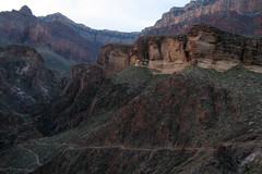 Switchbacks (angelatravels11) Tags: angel switch bright grand canyon hike trail backpack april backs 20080402 backpackingthegrandcanyon
