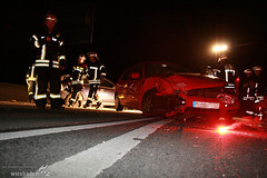 Verkehrsunfall A643 Äppelallee 13.04.08