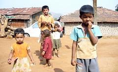 stunned ( amar) Tags: india kids children village maharashtra pune bhor