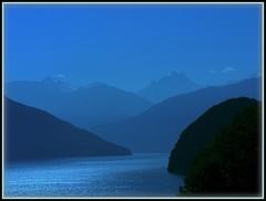 Schweiz 2006 - blue morning in Switzerland