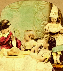 Dunce! (ookami_dou) Tags: vintage education stereoview silvester tinted genre dunce