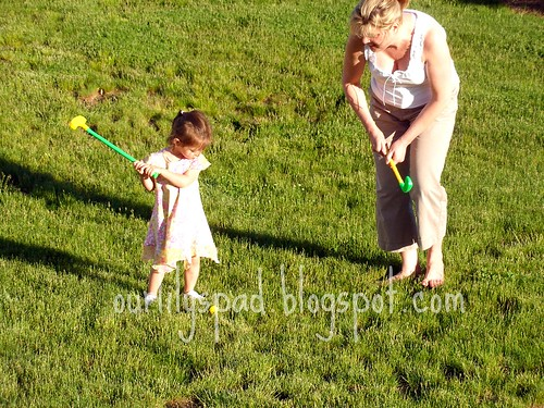 Golfing with Nannie