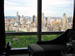 Room at the Mandarin Oriental, New York (Dan_DC) Tags: nyc newyork hotel view centralpark manhattan interior stock scenic midtown indoors license rf guestroom mandarinoriental imagebank royaltyfree hotelinterior refinement flatfee