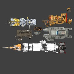 scaleref_01 (Sastrei87) Tags: homeworld desertsofkharak wreck salvage space ship