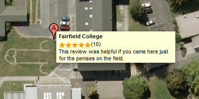 Bad review text snippet in Google Maps