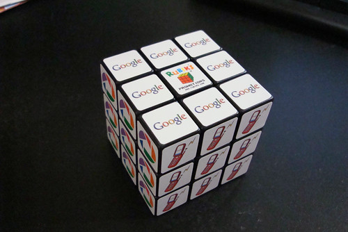 Googles Rubiks Cube