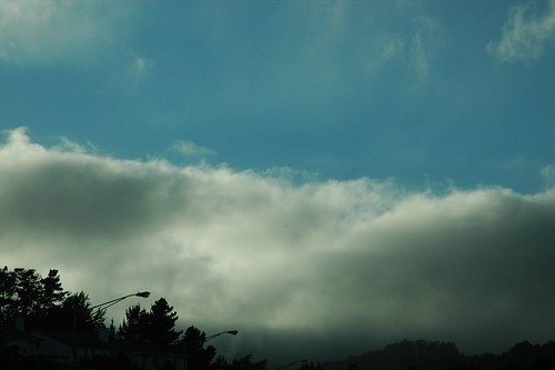 Marine Layer Moving In