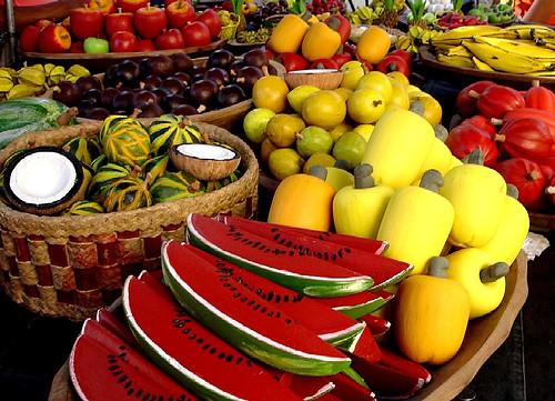 Comam fruta