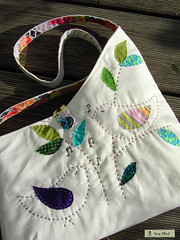 songbirds (sew-mad) Tags: bird bag colorful sale handmade song linen sewing handbag sewmadbadge dawanda sewmad