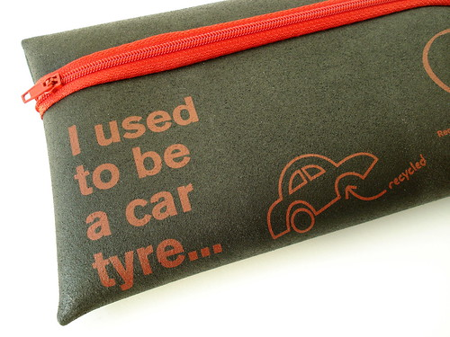 I used to be a tyre... Recycled products