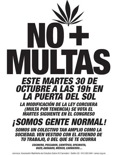 Martes, 30 de octubre: No más multas