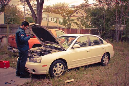 Mechanic by : : w i n t e r t w i n e d : :, on Flickr