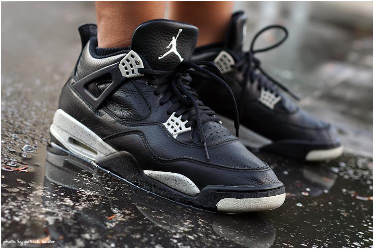Air Jordan 4 Oreo 2015 Niketalk Noir