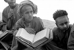 Oman in the seventies (Chris Kutschera) Tags: boy oman eleve wadisumail ecolecoranique coranicschool