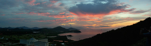 Isla Margarita Sunset Panorama 2