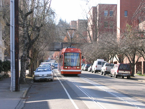 Portland Streetcar at PSU