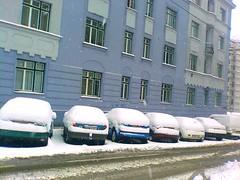 Snow in Vienna