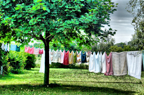 German Clothesline
