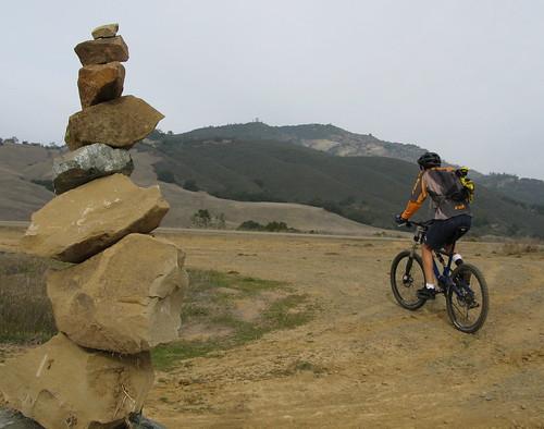 More rock balancing