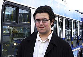 Matthew Naylor, AMS vice-president, external
