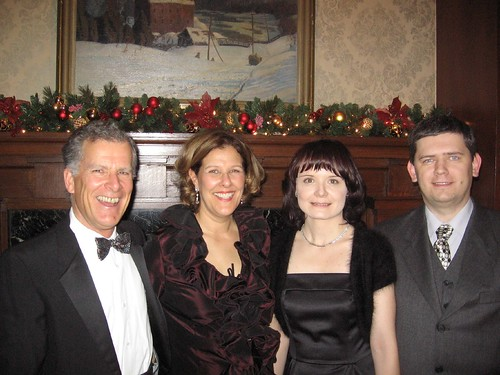 Ingrid and Jan Sojka with Bev Moir and Ron Foreman