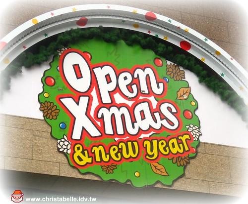 open小將慶耶誕