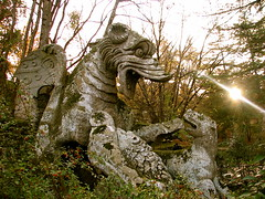 The stone of dragon - The holy wood (Valentina_A) Tags: park wood italy music parco rome roma nature stone video song dante natura enigma holy latin inferno latino monsters pietra divina viterbo mostro giardino lazio commedia bomarzo bosco testo gregorian mostri youtube tearsandrain gregoriano sadeness mywinners