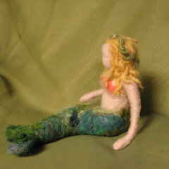needle felted mermaid (haddy2dogs) Tags: felted waldorf etsy