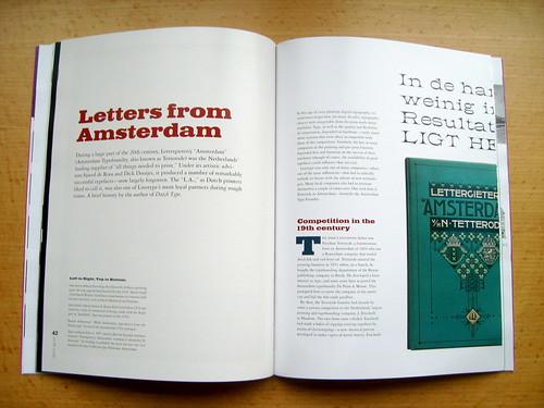 Linotype Matrix 4.3 Tetterode article