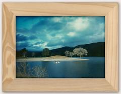 lake - natural frame