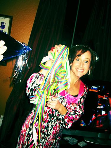 Amy & confetti
