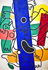 Typical (Thomas Hawk) Tags: nyc newyorkcity people usa newyork abstract art colors painting other unitedstates manhattan contemporaryart unitedstatesofamerica met metropolitanmuseumofart overlapping nymet