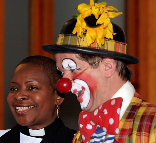 Clowns International annual Grimaldi service