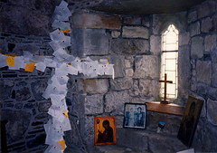 Prayer Chapel- Iona Abbey, Scotland (j_piepkorn65) Tags: scotland chapel iona prayers pilgrim ionaabbey