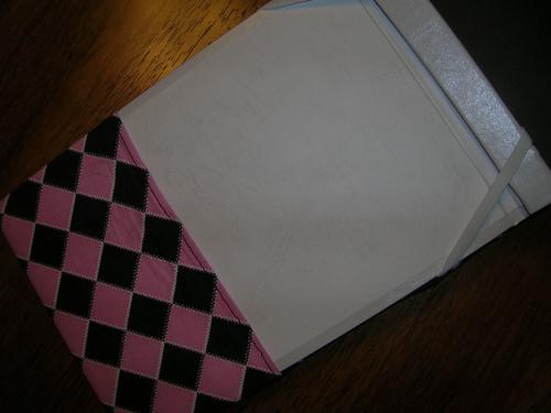 Inside Detail of Recipe Book