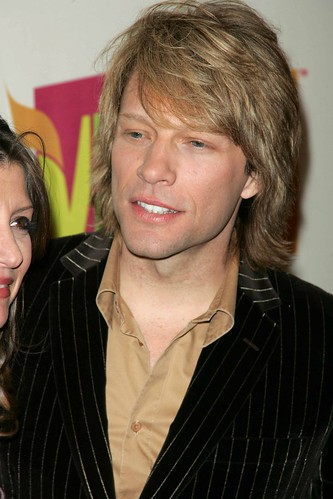 Jon Bon Jovi with straight hairstyles is something special for him.