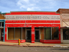 Sprouse Reitz Co (kevin dooley) Tags: old red arizona favorite building beautiful yellow hydrant wow fire store interesting fantastic closed flickr pretty very good 10 5 no gorgeous awesome cent parking vivid award superior 15 az super best business explore sidewalk most winner stunning co excellent much bisbee incredible breathtaking exciting reitz inclined phenomenal sprouse