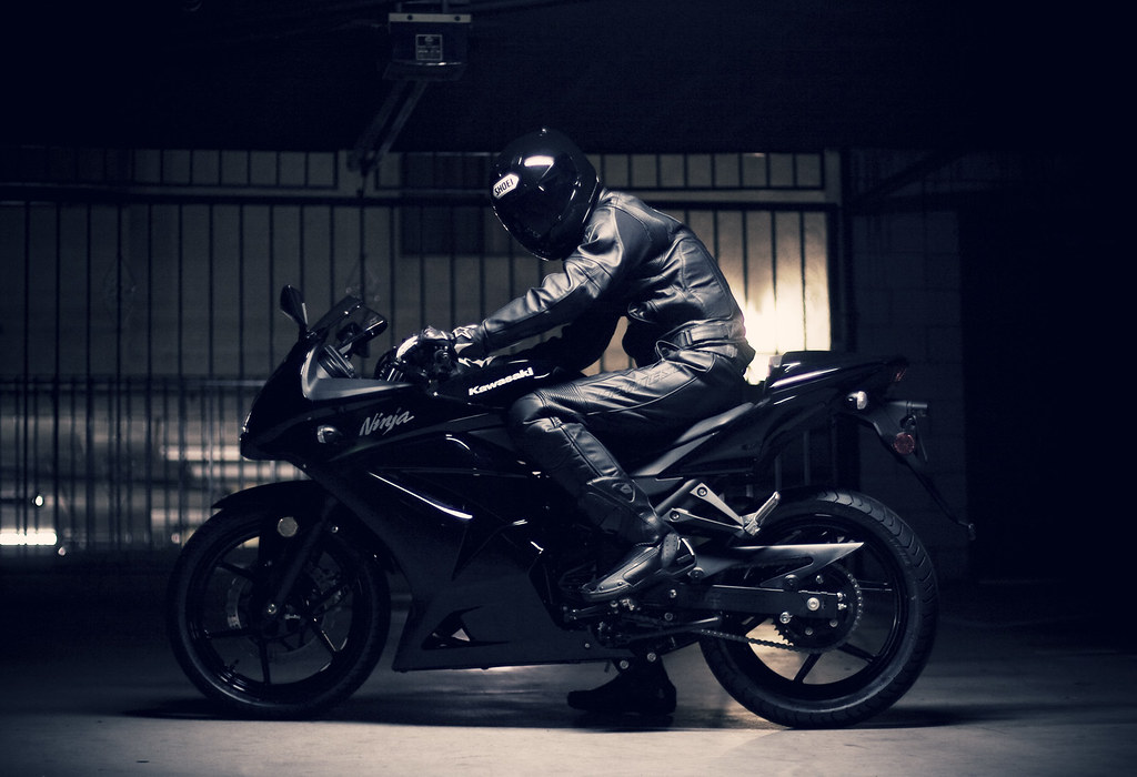 I Think This Pic Of Beast And His Bike Is Best Wallpaper So Far He Should Call Himself A NIGHTRIDER