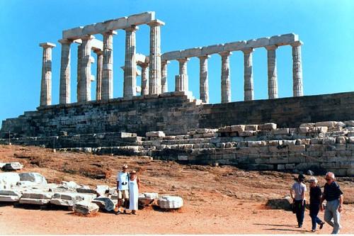 Templo de Netuno - Cabo Sounion - Grécia por pintomarta50.