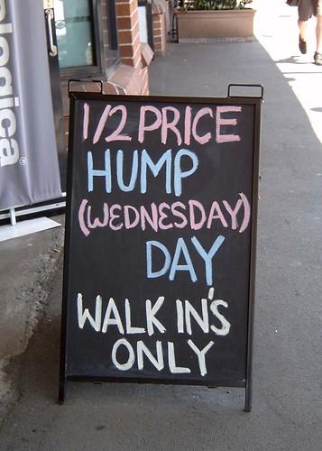 Half price hump