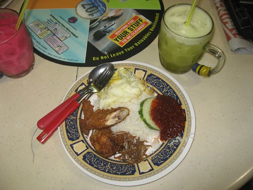 Traditional Singapore Meal