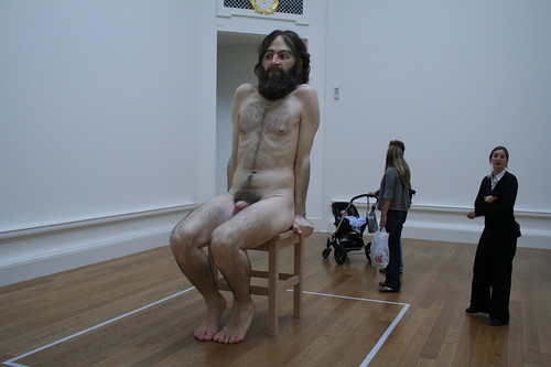 Ron Mueck, Wild Man, photo by Shannon McClean